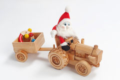 Christmas driver Royalty Free Stock Photography