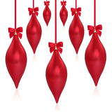 Christmas Droplet Decorations Stock Image