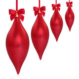 Christmas Droplet Decorations Royalty Free Stock Photo