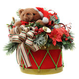 Christmas Drum Royalty Free Stock Photography