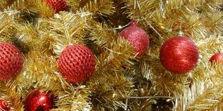 Christmas drzewodekoracja, nowego roku świętowanie obrazy stock