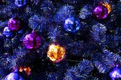 Christmas drzewodekoracja, nowego roku świętowanie zdjęcia stock