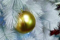Christmas drzewodekoracja, nowego roku świętowanie zdjęcia royalty free