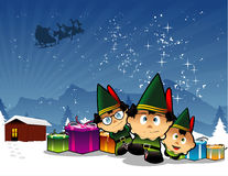 Christmas dwarfs  Royalty Free Stock Image