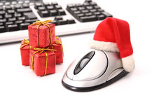 Christmas e-commerce Royalty Free Stock Image