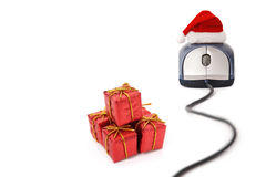 Christmas e-commerce time stock images