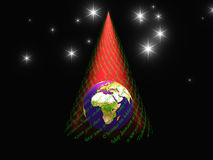 Christmas Earth Stock Images