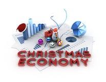 Christmas economy Stock Images