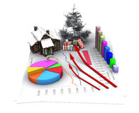 Christmas economy Royalty Free Stock Photography