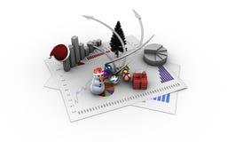 Christmas economy Stock Image