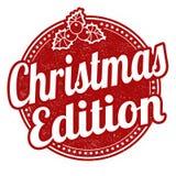 Christmas edition stamp Royalty Free Stock Photos