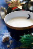 Christmas eggnog Stock Photography