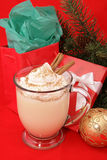 Christmas Eggnog Stock Photography