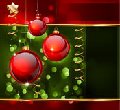 Christmas Elegant Background for Flyers or Posters Stock Images
