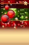Christmas Elegant Background for Flyers or Posters Royalty Free Stock Image