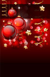 Christmas Elegant Background for Flyers or Posters Royalty Free Stock Images
