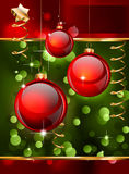 Christmas Elegant Background for Flyers or Posters Stock Image