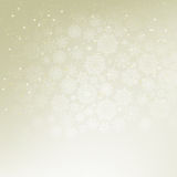 Christmas elegant beige background. EPS 8 Royalty Free Stock Images