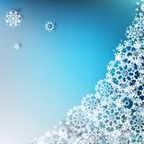 Christmas elegant blue background. EPS 10 Stock Photography