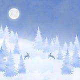 Christmas elegant vector  card Stock Photo