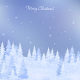 Christmas elegant vector  card Stock Photography