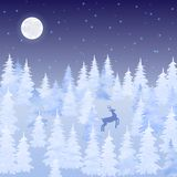 Christmas elegant vector card Royalty Free Stock Images