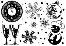 Free Christmas Element Royalty Free Stock Image - 16544516