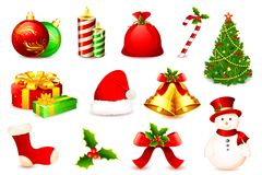 Free Christmas Element Royalty Free Stock Images - 20658649