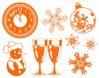 Free Christmas Element Royalty Free Stock Photo - 7297665