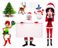 Christmas Element Royalty Free Stock Photo
