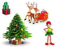 Christmas Element Stock Image