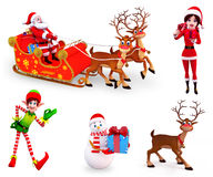 Christmas Element Royalty Free Stock Images