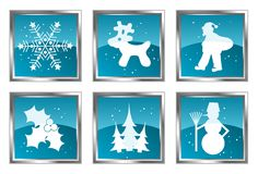 Christmas element for design, set,  Stock Photos