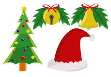 Christmas element. Few kinds of christmas element Stock Image