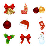 Christmas elements Royalty Free Stock Image
