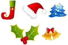 Christmas  elements Stock Photos