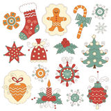 Christmas  elements Royalty Free Stock Photos