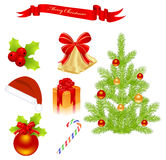 Christmas elements Stock Photo