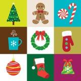 Christmas Elements. Illustration of Christmas elements set Stock Images