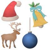 Christmas elements Royalty Free Stock Photo