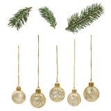 Christmas_Elements Royaltyfria Foton