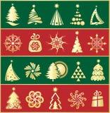 Christmas elements Royalty Free Stock Image