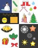 christmas elements Στοκ Εικόνες