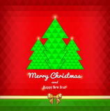 Christmas elements for christmas and New Year holi Royalty Free Stock Image