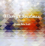 Christmas elements for christmas and New Year holi. Christmas elements on a colorful background Stock Photography