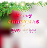 Christmas elements for christmas and New Year holi Royalty Free Stock Photo