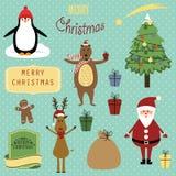 Christmas elements Royalty Free Stock Photos