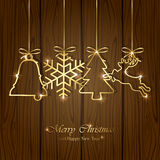 Christmas elements Stock Photography