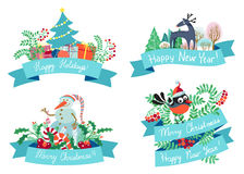 Christmas elements vector illustration