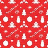 Christmas elements pattern Royalty Free Stock Photos